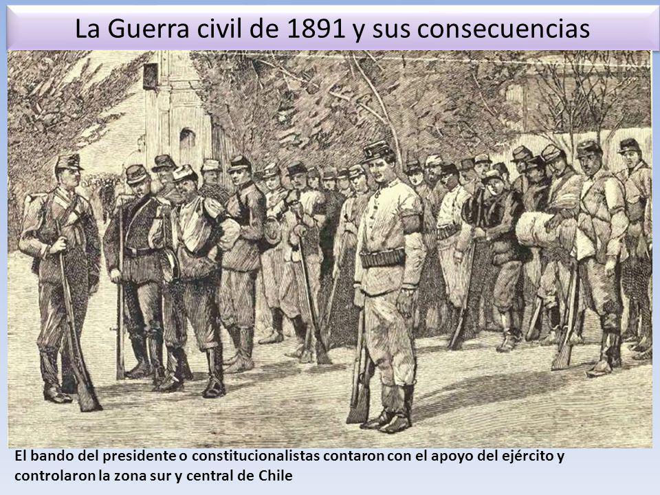 La Guerra civil de 1891 y sus consecuencias