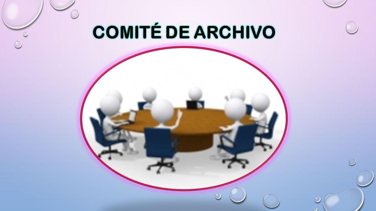 COMITÉ DE ARCHIVO