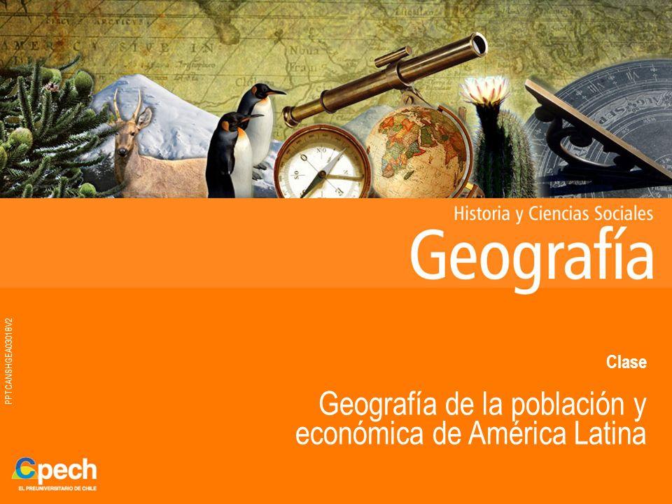 Geografía de la población y económica de América Latina