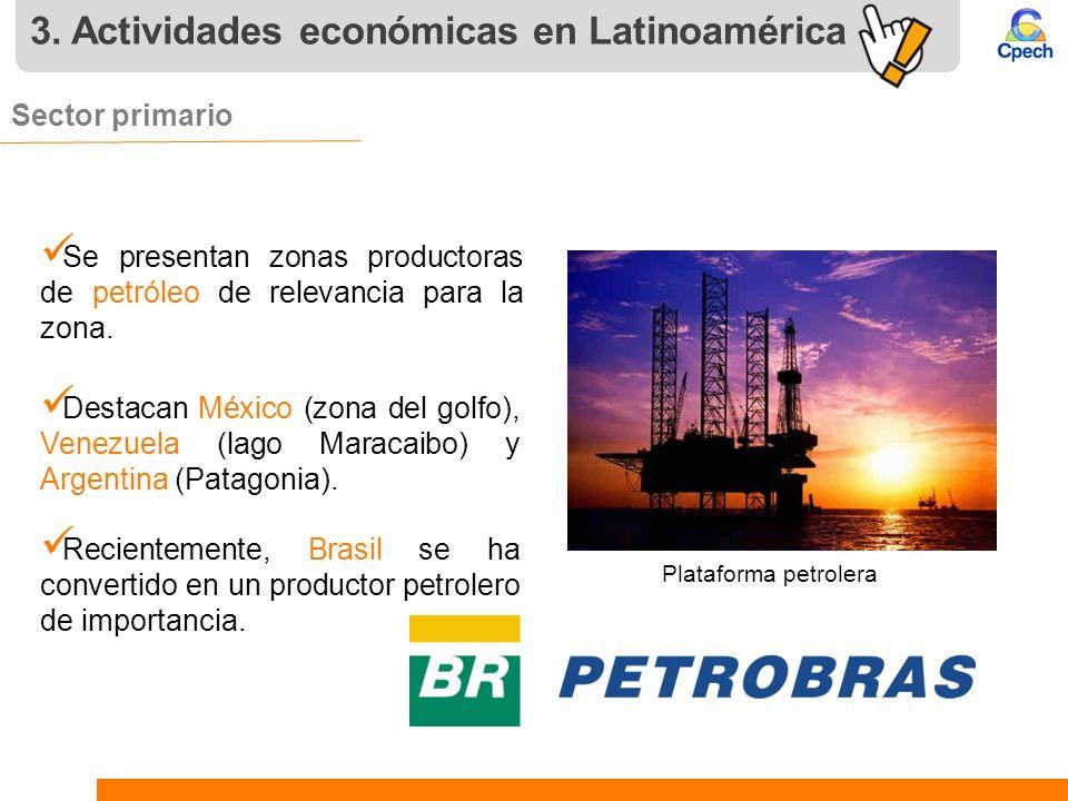 3. Actividades económicas en Latinoamérica