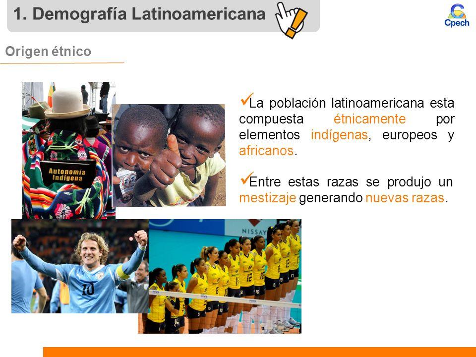 1. Demografía Latinoamericana