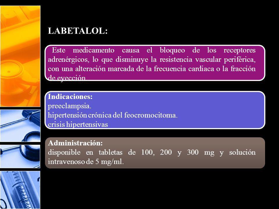 LABETALOL: