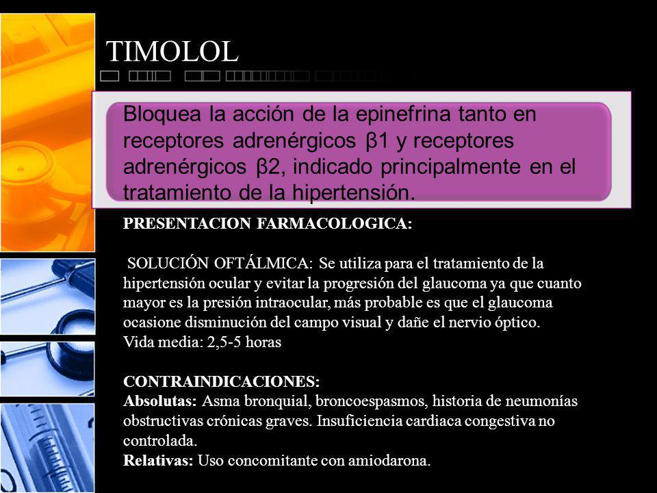 TIMOLOL