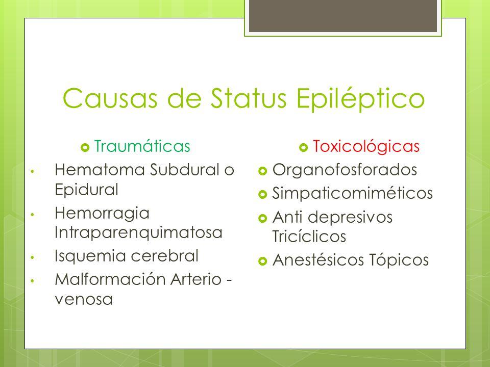 Causas de Status Epiléptico