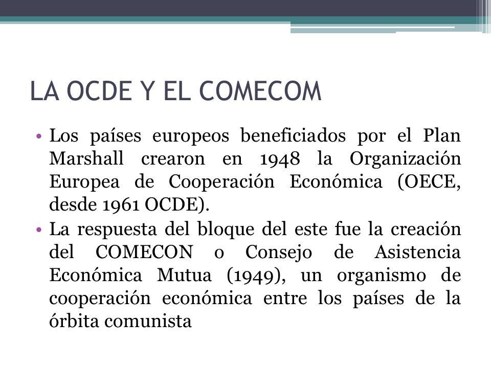 LA OCDE Y EL COMECOM