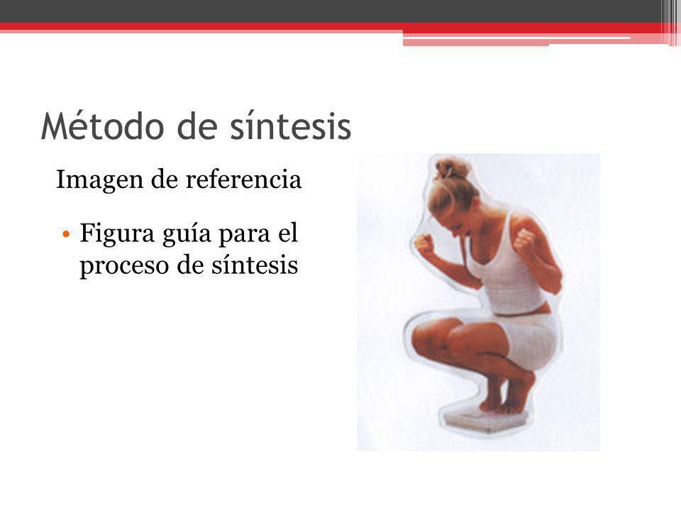 Método de síntesis Imagen de referencia