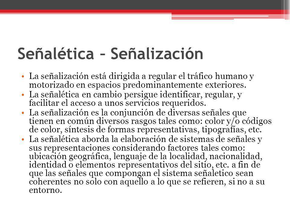 Señalética – Señalización