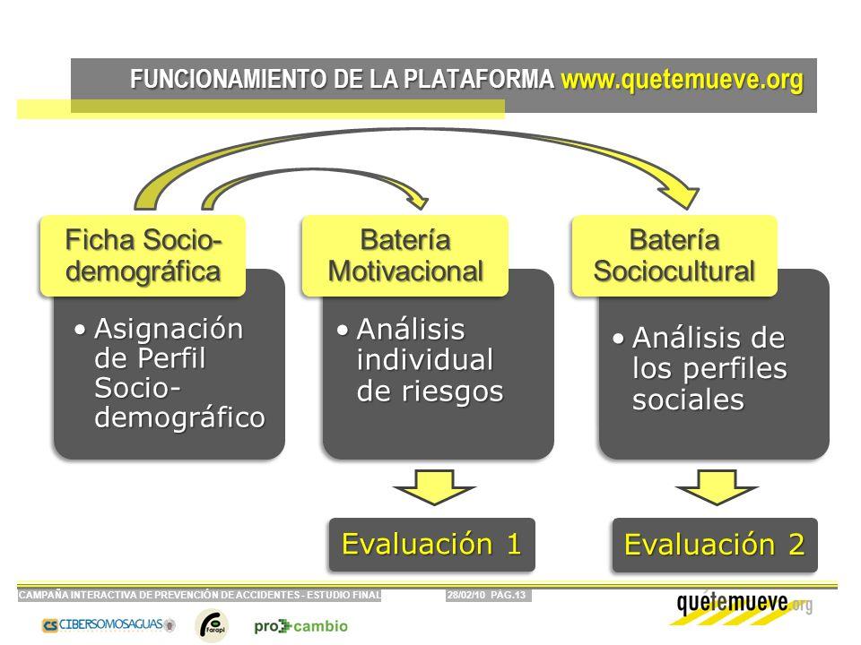 FUNCIONAMIENTO DE LA PLATAFORMA www.quetemueve.org