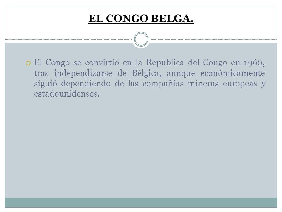 EL CONGO BELGA.