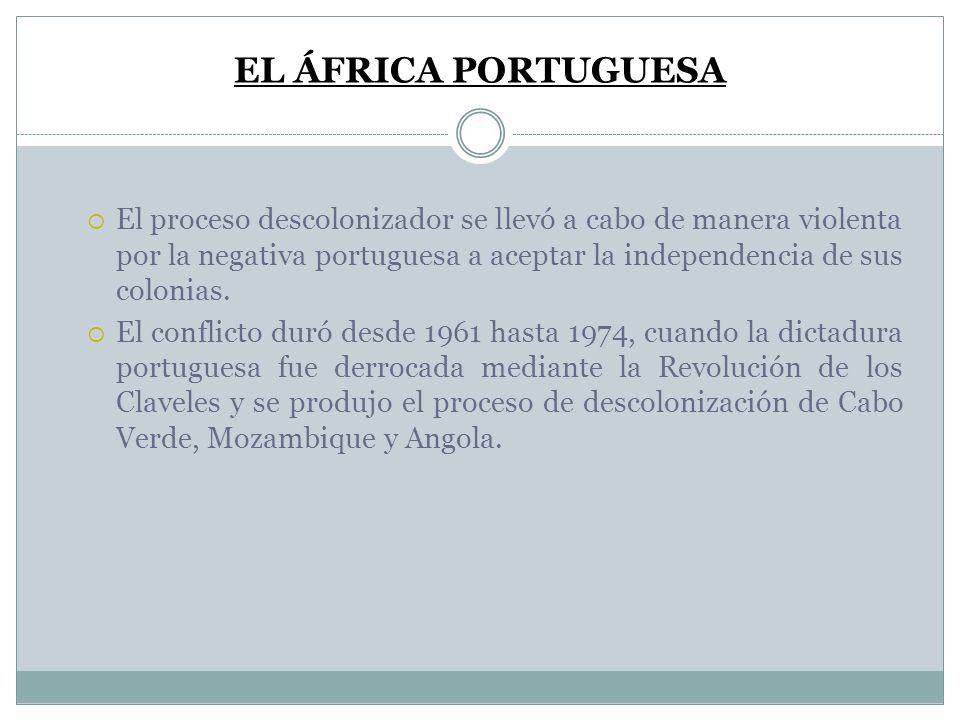 EL ÁFRICA PORTUGUESA