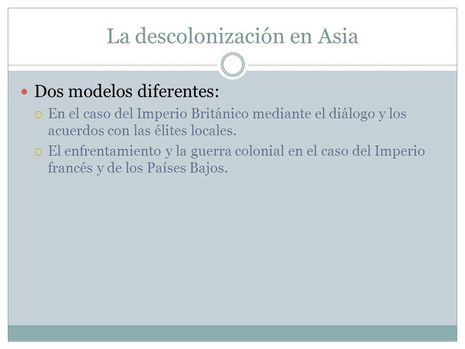 La descolonización en Asia