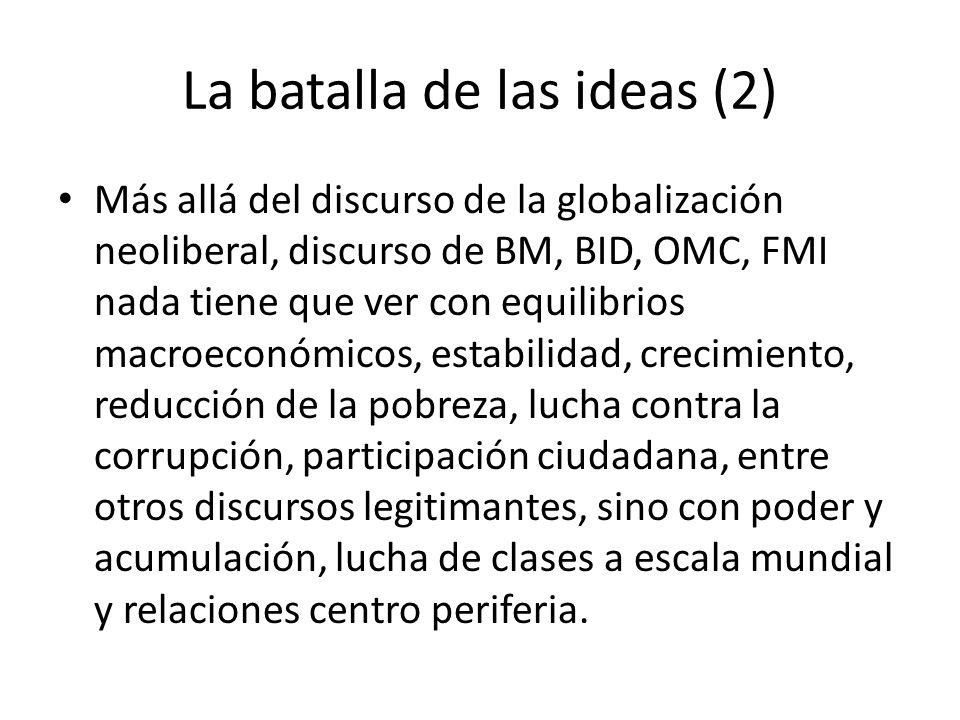 La batalla de las ideas (2)
