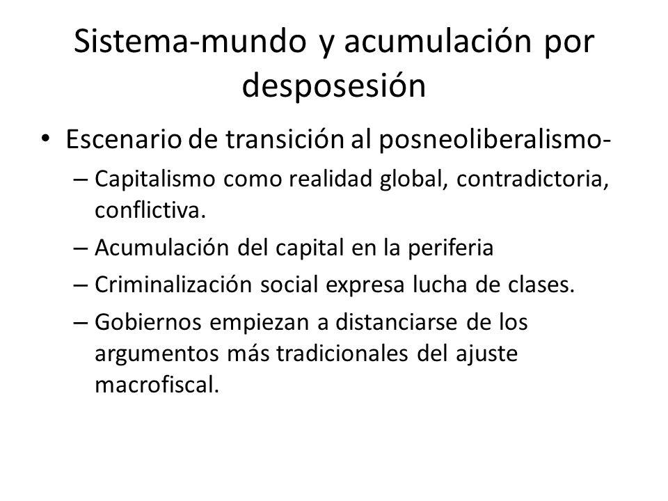 Sistema-mundo y acumulación por desposesión