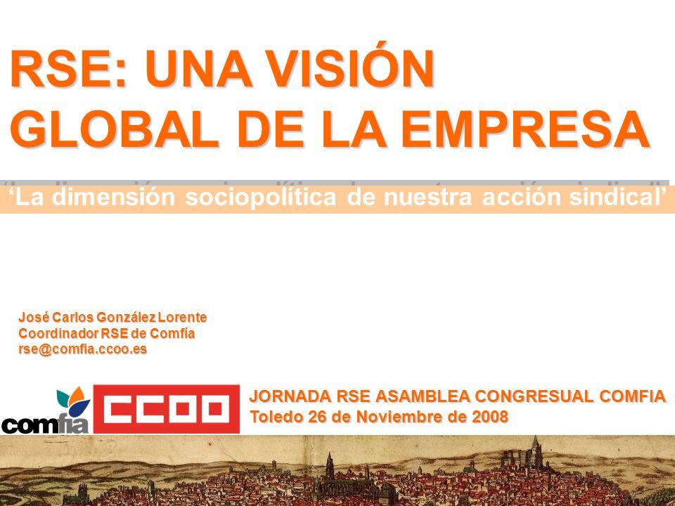 'La dimensión sociopolítica de nuestra acción sindical'