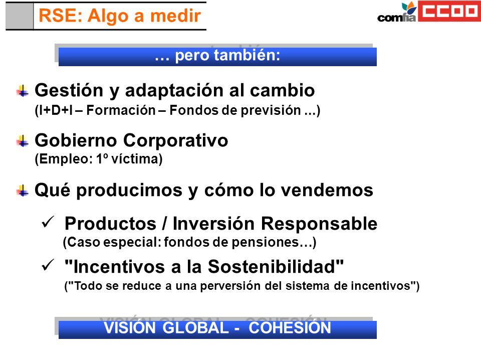 VISIÓN GLOBAL - COHESIÓN