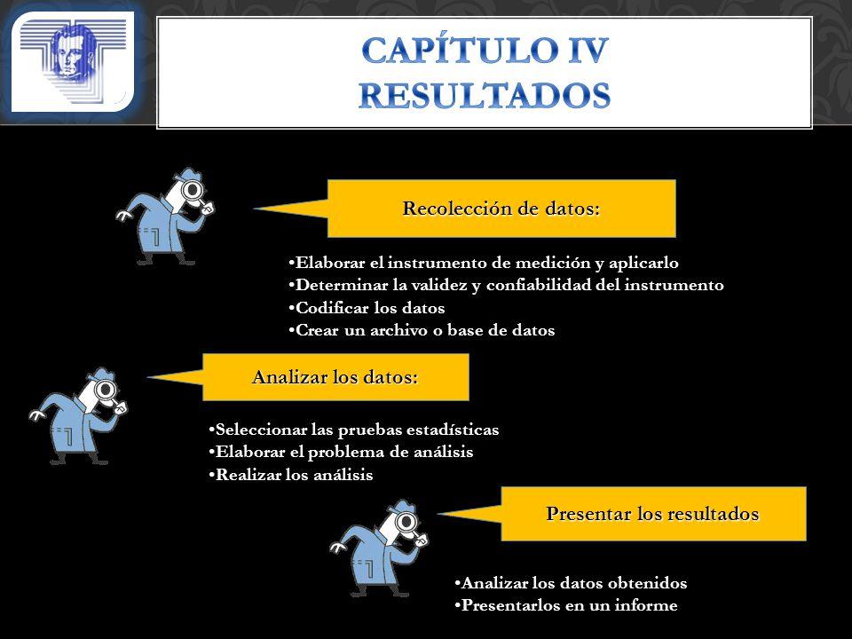CAPÍTULO IV RESULTADOS