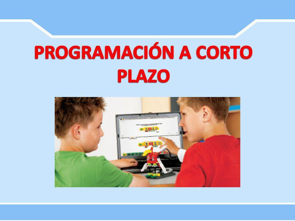 PROGRAMACIÓN A CORTO PLAZO