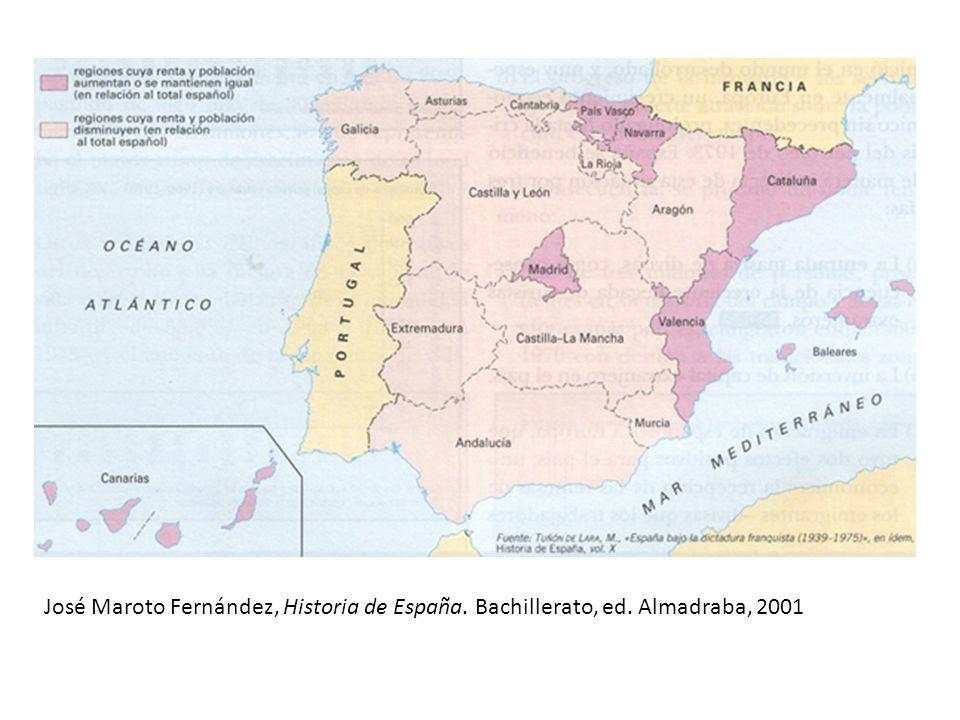 José Maroto Fernández, Historia de España. Bachillerato, ed