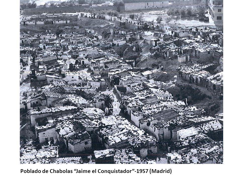 Poblado de Chabolas Jaime el Conquistador -1957 (Madrid)
