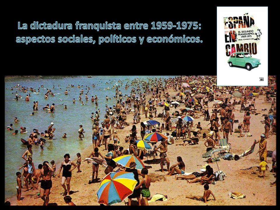 La dictadura franquista entre 1959-1975: