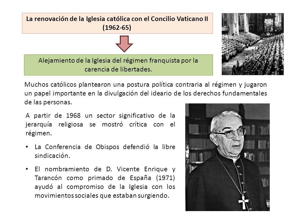 La Conferencia de Obispos defendió la libre sindicación.