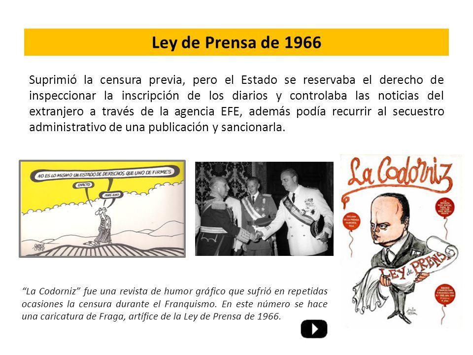 Ley de Prensa de 1966