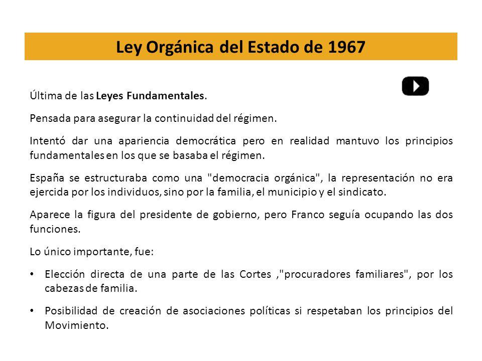Ley Orgánica del Estado de 1967