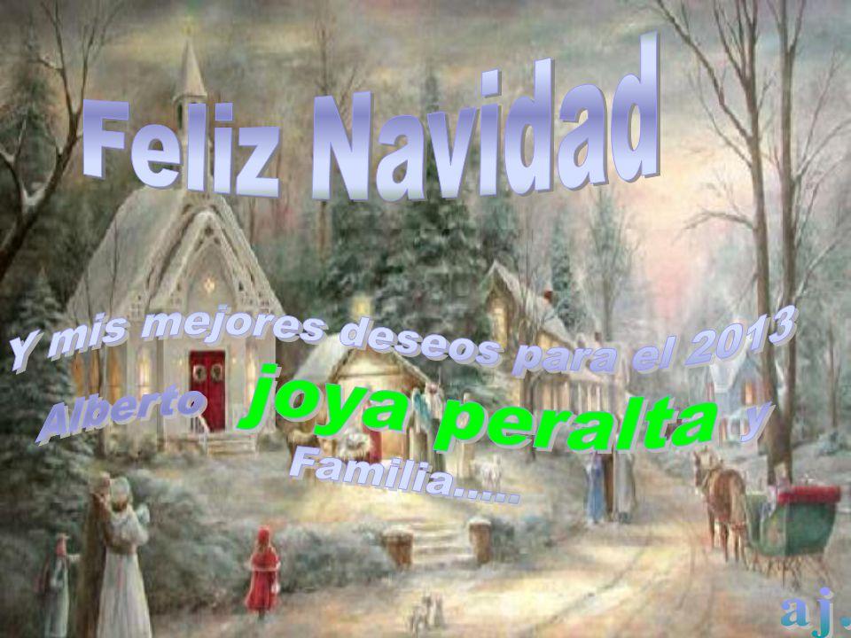 Y mis mejores deseos para el 2013