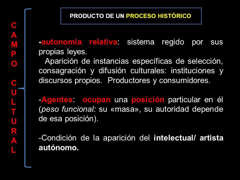 -autonomía relativa: sistema regido por sus propias leyes.