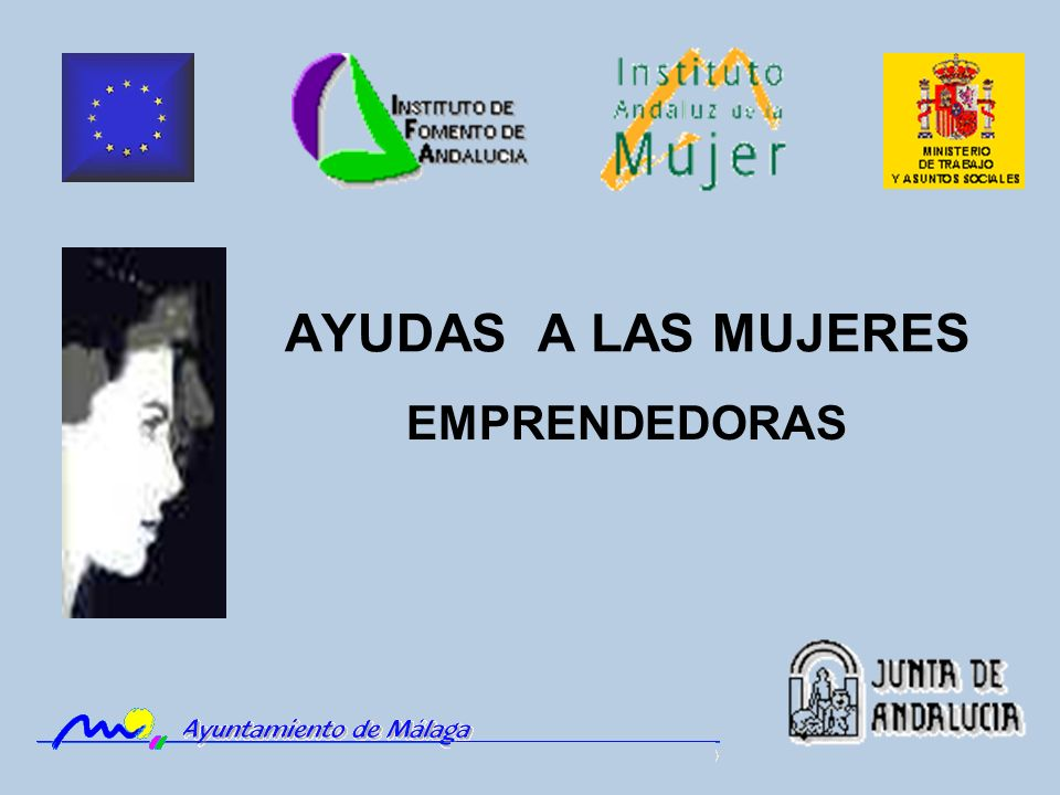 AYUDAS A LAS MUJERES EMPRENDEDORAS