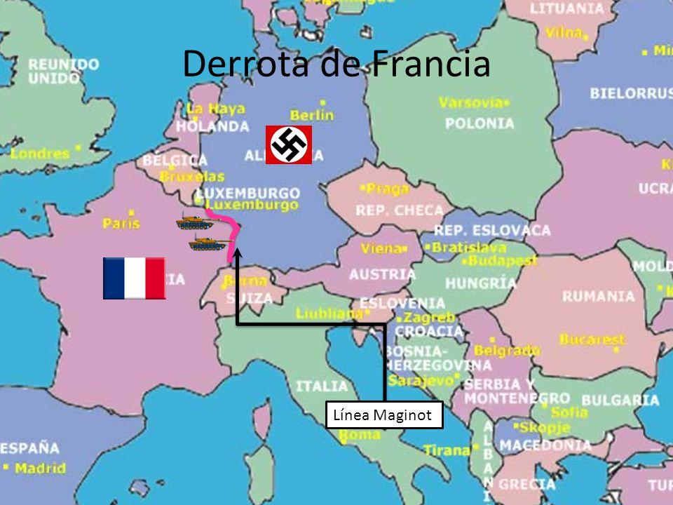 Derrota de Francia Línea Maginot