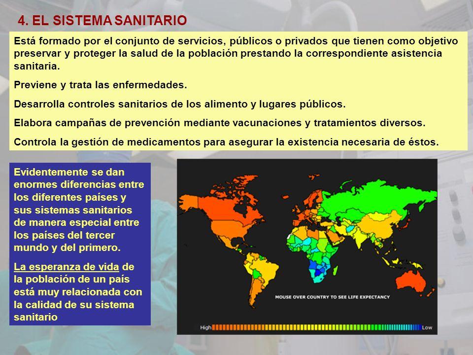 4. EL SISTEMA SANITARIO