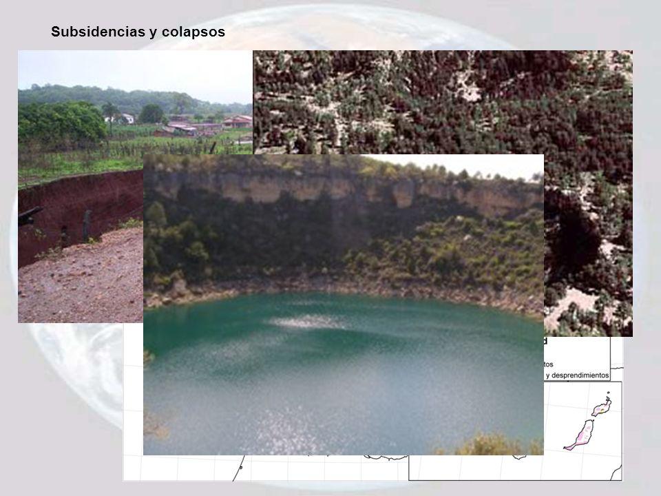 Subsidencias y colapsos