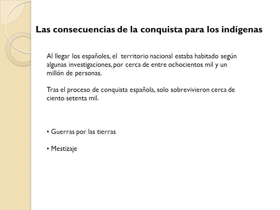 Las consecuencias de la conquista para los indígenas