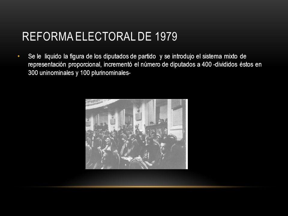 Reforma electoral de 1979