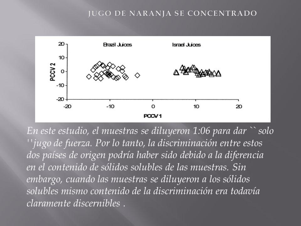 JUGO DE NARANJA SE CONCENTRADO