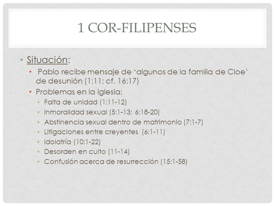 1 Cor-Filipenses Situación: