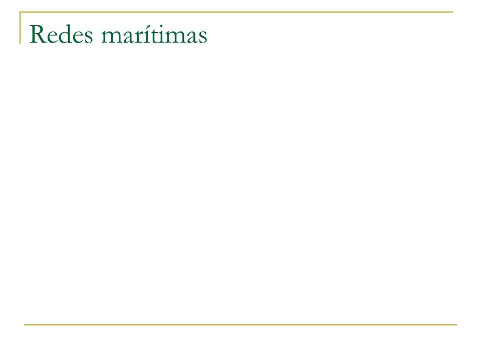 Redes marítimas