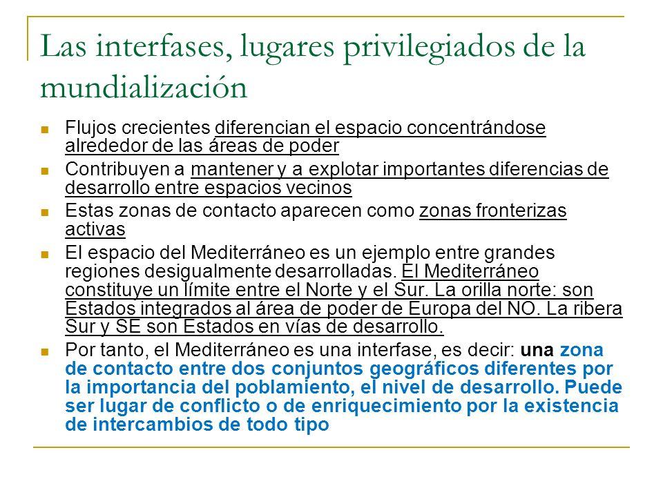 Las interfases, lugares privilegiados de la mundialización