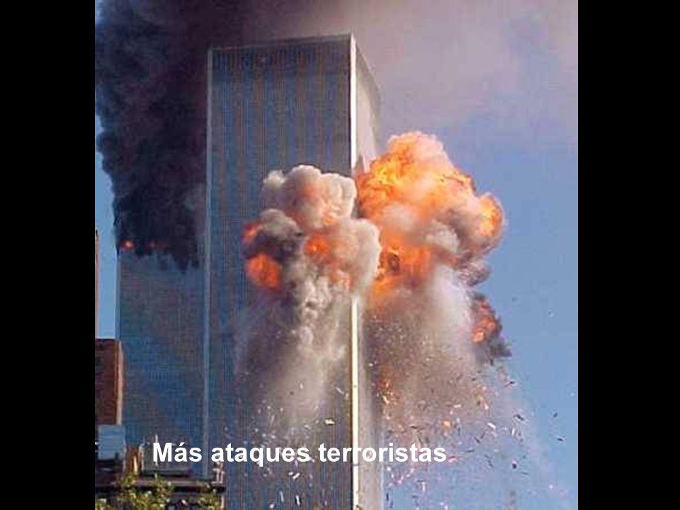 Más ataques terroristas