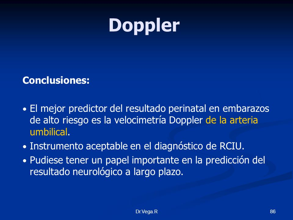 Doppler Conclusiones: