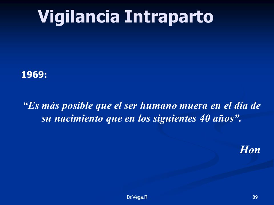 Vigilancia Intraparto
