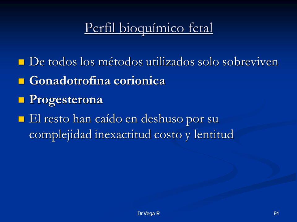 Perfil bioquímico fetal