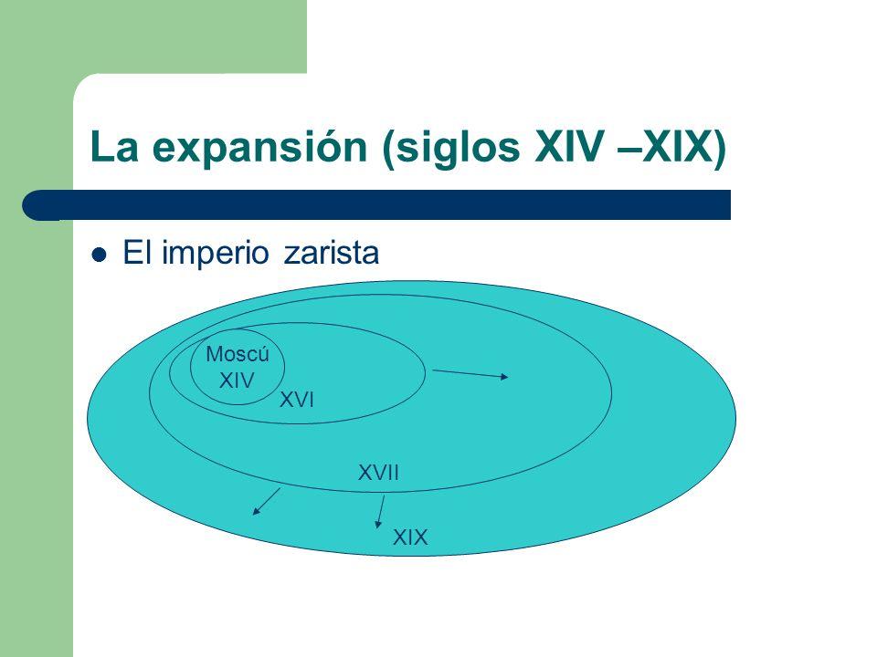 La expansión (siglos XIV –XIX)
