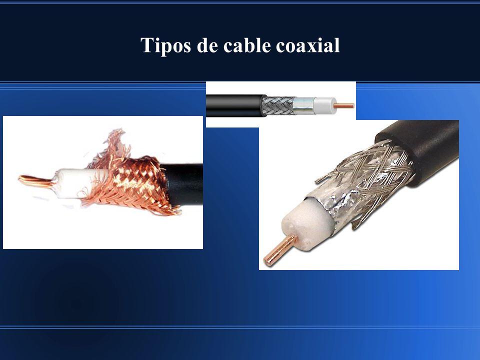 Tipos de cable coaxial