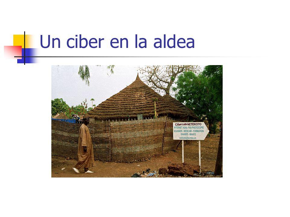 Un ciber en la aldea