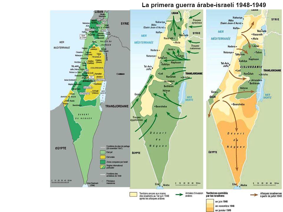 La primera guerra árabe-israelí 1948-1949