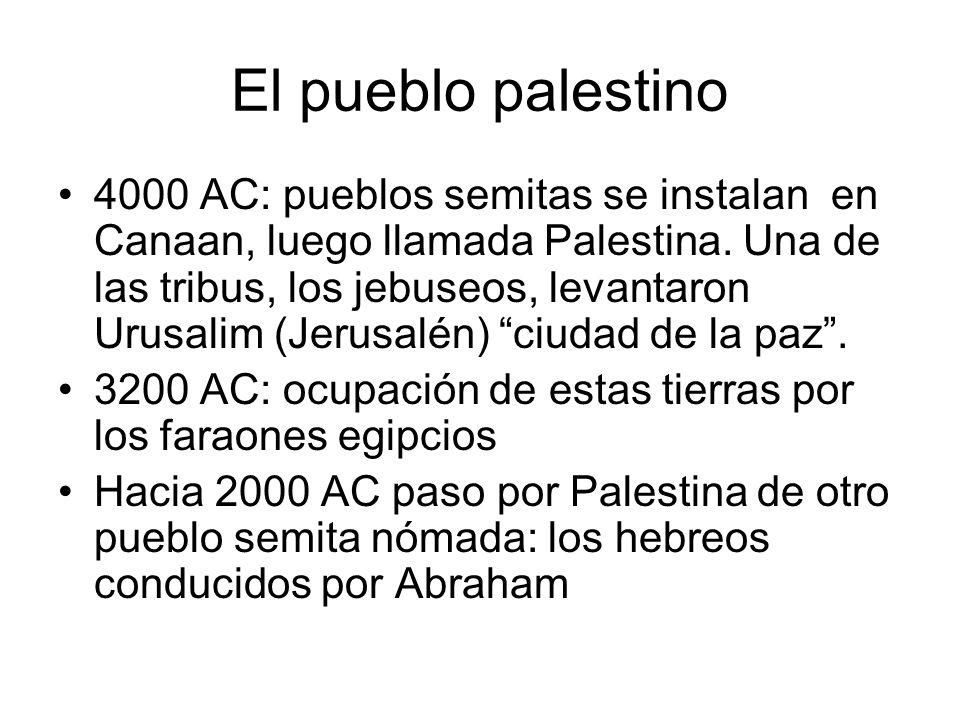 El pueblo palestino