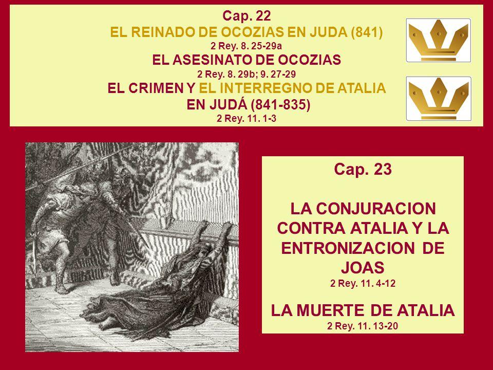 LA MUERTE DE ATALIA 2 Rey. 11. 13-20