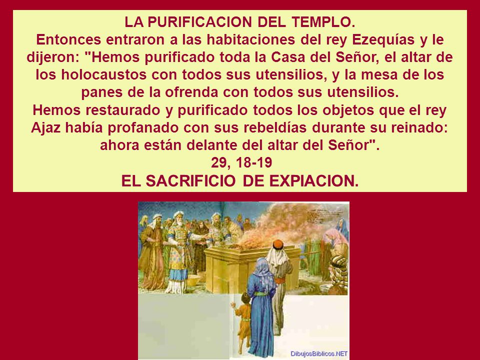 EL SACRIFICIO DE EXPIACION.